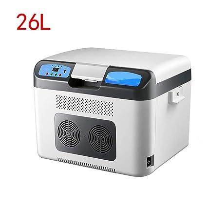Kievy Mini Refrigerador De Auto RefrigeracióN De Doble NúCleo ...