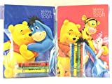 Party Favors Winnie-the-Pooh Coloring Book & Crayon Set 12 Pack ( Assorted Style)
