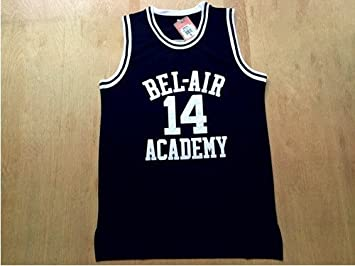 Will Smith 14 Bel Air Academy Basketball Jersey Jersey Yellow Green