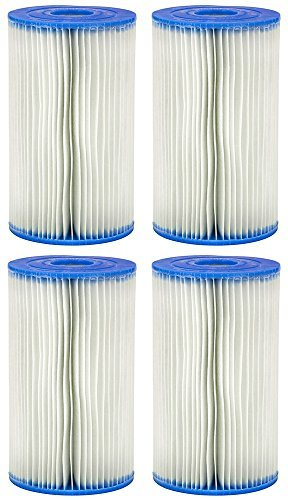 Intex Type A Filter Cartridge for Pools-4 Pack