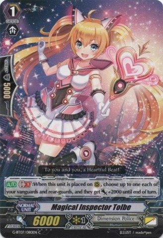 Cardfight!! Vanguard TCG - Magical Inspector Tolbe (G-BT07/078EN) - G Booster Set 7: Glorious Bravery of Radiant Sword