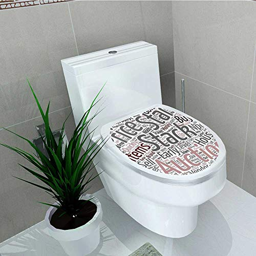 - Philip C. Williams Vinyl Decal Video Game Your War Theme Noob G Guide Text Wordcloud at Role Playing Game Decoration Bathroom Toilet W14 x L16