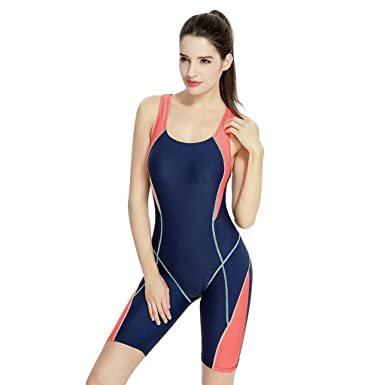 b5de67e502771 Women Wetsuit Swimsuit Swimwear - Lady One Piece Diving Surfing Suits Girls  Beachwear Swimming Costume Bathing