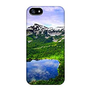 New Cute Funny Mountain Pond Case Cover/ Iphone 5/5s Case Cover