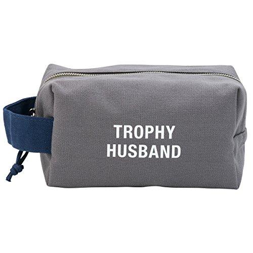 Trophy Husband Travel Cotton Canvas Rugged Dopp Kit Bag Christmas Gift Ideas For Mom Pinterest