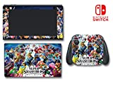 Super Smash Brothers Ultimate Bros SSB Video Game Vinyl Decal Skin Sticker Cover for Nintendo Switch Console System