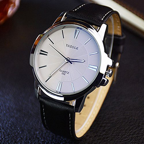 Best price YAZOLE 2018 Fashion Quartz Latest Watch Men Watches Top Brand Luxury Male Clock Business Mens