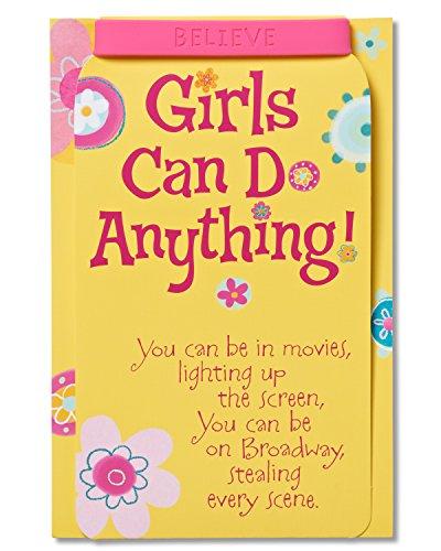 American Greetings Birthday Card for Girl with Bracelet Keepsake