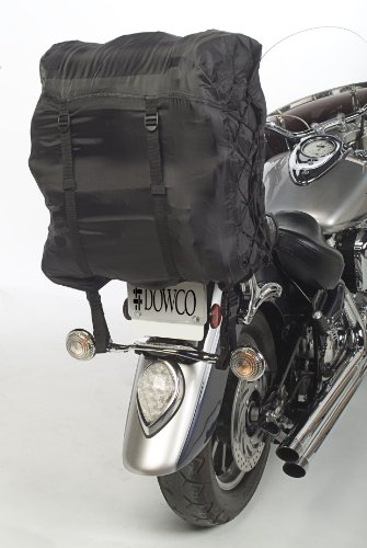 Iron Rider By Dowco - Motorcycle Luggage Rain Hood - 2 Year Limited Warranty - Waterproof - Black - Universal [ 50149-00 ]