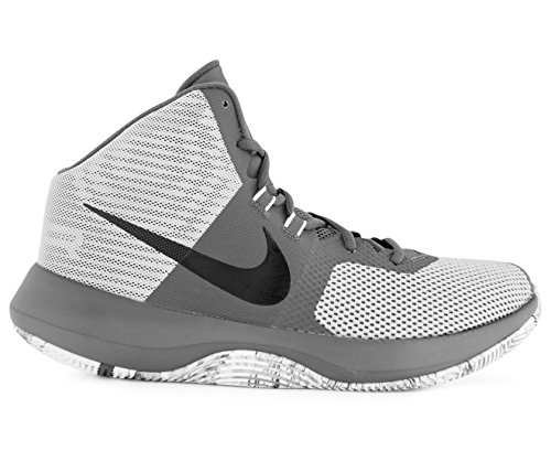 NIKE Men's Air Precision Basketball Shoes (9 Wolf Grey/Black-M)❗️Ships directly from - Shoes Nike Men Air Basketball
