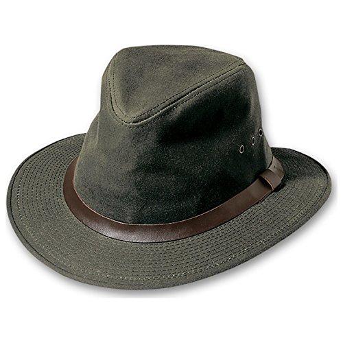 Filson Oil Finish (Filson Unisex Shelter Packer Hat Otter Green Hat)