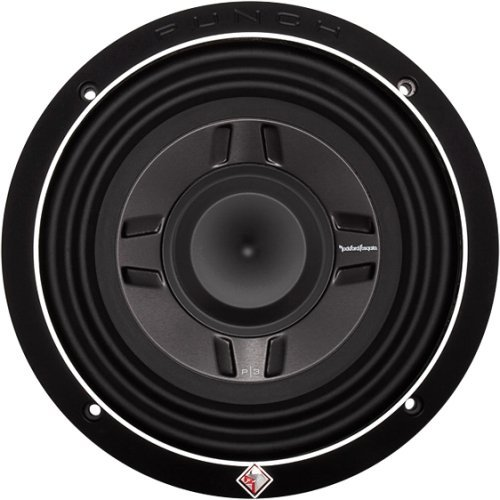 Rockford P3 Punch Shallow mount 8-Inch DVC 4-Ohm Subwoofer 9