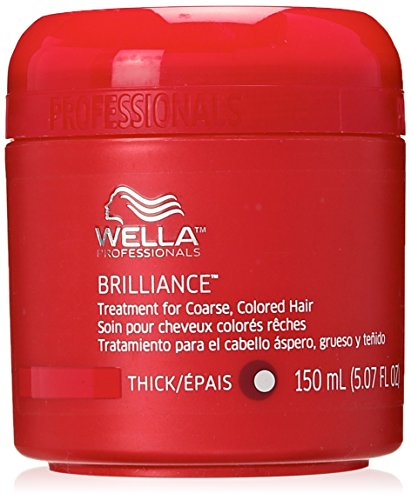 Wella Coarse Colored Hair Brilliance Treatment For Unisex 507 Ounce