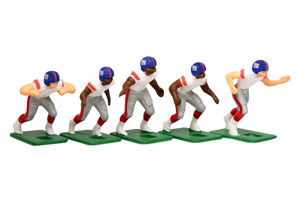 Tudor Games New York Giants Away Jersey NFL Action Figure Set by Tudor Games (Image #2)