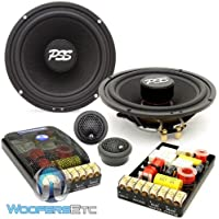 ES-62iM - CDT Audio 6.5 190W RMS 2-Way Inverted Magnet Component Speakers System