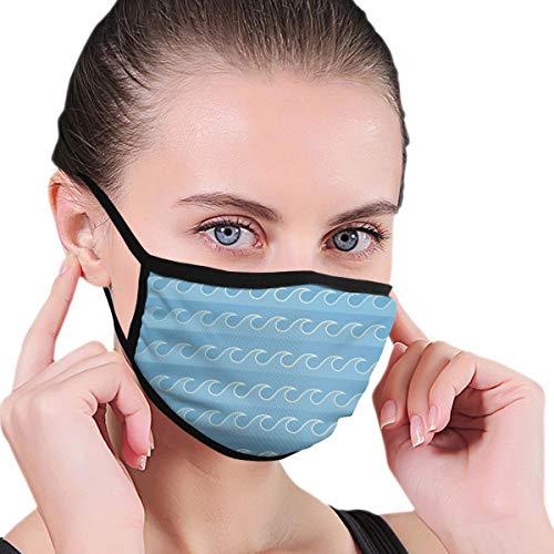 TRAVOTG Colored Mouth Mask,Unisex Mask Personality Print Anti-Pollen Mask Anti-dust and Anti-infective Polyester Face Mask Face-Fitting for Men and Women