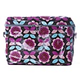 Janome Small Sewing Machine Tote Bag, Floral