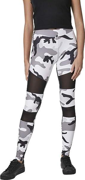 b7151667a3b7f1 Urban Classics Ladies - TECH MESH Fitness Leggings tarn camo: Amazon ...