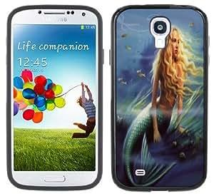 Mermaid Handmade Samsung Galaxy S4 Black Bumper Hard Plastic CaseKimberly Kurzendoerfer