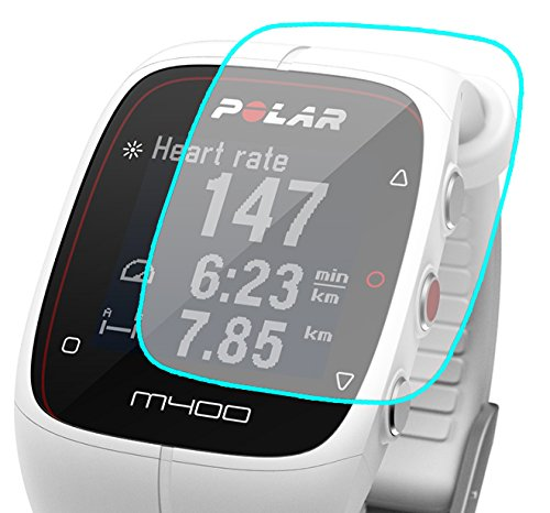 3X Polar M400 and M430 Screen Protector [3 Pack] Premium HD Film] Easy Install [Made in the USA] HD Clear Film