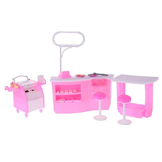 Amazon.es: Gazechimp Conjunto Muebles para Dollhouse de ...