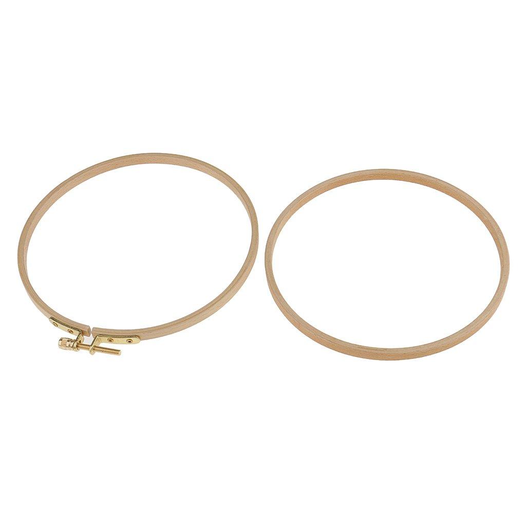 wie Bild 11,5 cm B Baosity Rund Stickrahmen Kreuzstich Stickring Stickerei Ring Bastel Zubeh/ör
