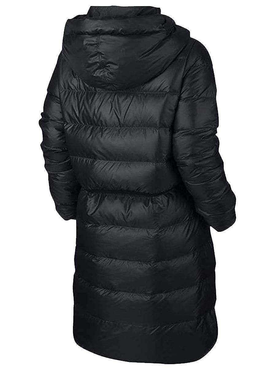 63add70d Amazon.com: Nike Women's NSW Down Fill Parka Jacket Black 854759-010:  Sports & Outdoors