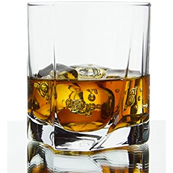 Swivel Double Old Fashioned Glasses, 12 Ounce - Set of 6