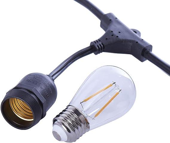 HG 30209 LED 20er Baumkerzenset Innenbereich Gold mit Glassteinen Timer Dimmer