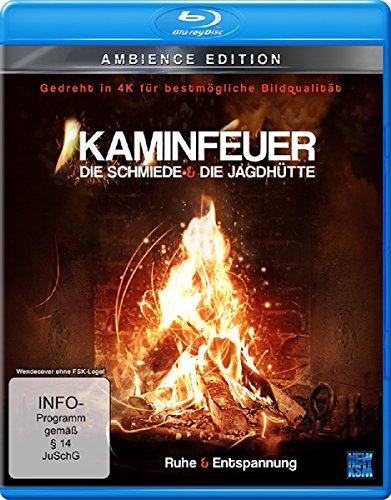 Kaminfeuer (gedreht in 4K für bestmögliche Bildqualität) - Die Schmiede & Die Jagdhütte (Blu-ray)