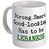 CafePress %2D Be Lebanese Mug %2D Unique