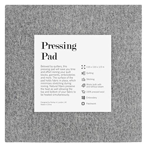 - Kenley Wool Pressing Mat for Quilting - 13.5