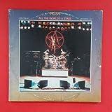 RUSH All The Worlds A Stage LP Vinyl VG GF 1976 Mercury SRM 2 7508