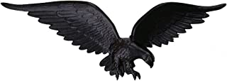 product image for Montague Metal Products Flagpole Wall Eagle, 24-Inch, Black