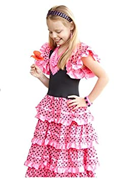 La Senorita Vestido Flamenco Español Traje de Flamenca chica/niños ...