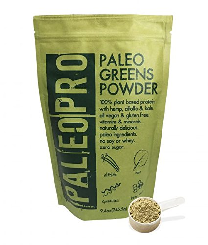 Nature's Most Potent Super Greens | PaleoPro Vegan Paleo Greens Powder | Best Tasting & Antioxidant Rich | 9.4 oz/30 Servings | …