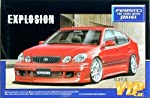 "Aoshima #45 Toyota Aristo ""Explosion"" (Lexus GS400) '98 1/24 Model Kit from Aoshima"