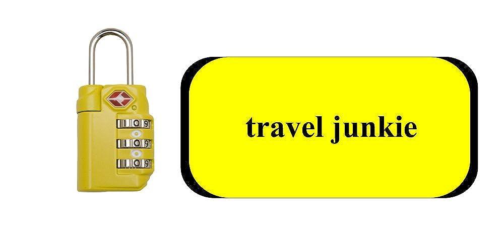 旅行Junkie TSロック/ラップセット B004Y1R1MG イエロー/ブラック