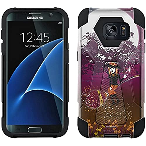 Samsung Galaxy S7 Edge Hybrid Case Mildred 2 Piece Style Silicone Case Cover with Stand for Samsung Galaxy S7 Edge Sales