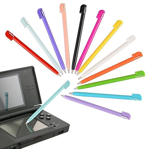Everydaysource Compatible With NINTENDO DS Lite Stylus , Plastic [12pc-Pack] (Nintendo 3ds Lite Stylus)