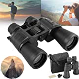 WishRing 15-180x100 Zoom Day Night Vision Outdoor Travel Binoculars Hunting Telescope+Case