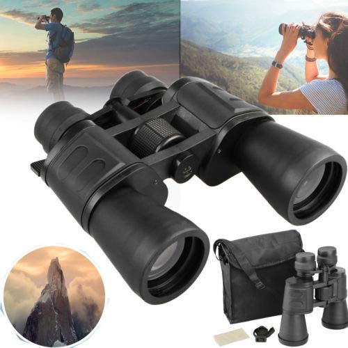 WishRing 15-180x100 Zoom Day Night Vision Outdoor Travel Binoculars Hunting Telescope+Case