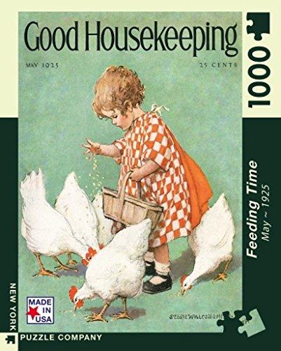 Smock Housekeeping (New York Puzzle Company - Good Housekeeping Feeding Time - 1000 Piece Jigsaw Puzzle)