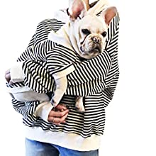 """Family Clothes for Dog Pitbull Dog Clothes Shirt for PaPa and Mama (Only for Pet S-(Bust 13.3""""), Black)"""