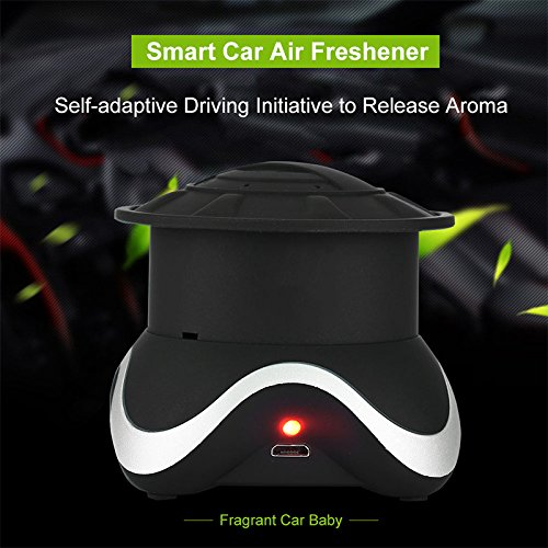 Yosoo- Portable Fragrant Car Baby Smart Car Air Freshener Vehicle Air Freshener Fragrance Diffuser Decoration