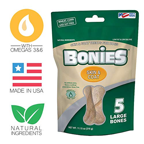 Bonies Skin Coat Health Large (5 Bones/ 11.15 oz)