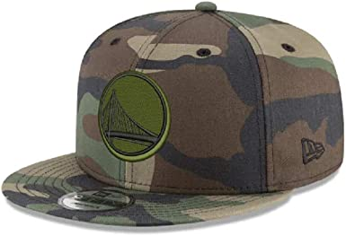 GOLDEN STATE WARRIORS Camo Camouflage Snap Snapback 9Fifty New Era 950 CAP Hat