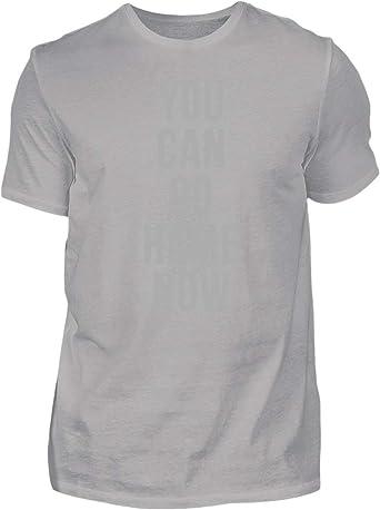 PlimPlom You Can Go Home Now Camiseta Tshirt Fitness Bodybuilding Gym Camisa para El Gimnasio O Los Deportes para Hombres: Amazon.es: Ropa y accesorios