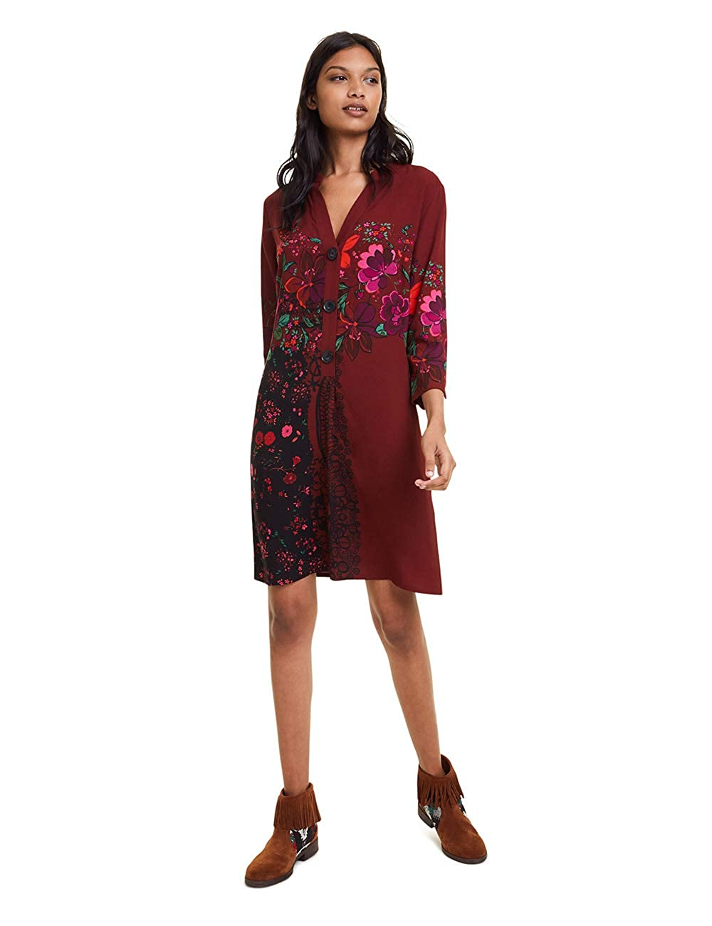 Desigual Dress Valentina Vestido para Mujer