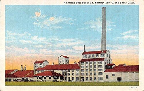East Grand Forks Michigan American Beet Sugar Co. Antique Postcard V18959